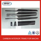 NEW!!! CARBON FIBER INTERIOR ACCESSORIES FOR MACAN INTERIOR TRIMS 1 SET 7PCS