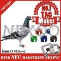 Khz 125 rfid animales anillo de etiquetas y paloma/pie del pollo