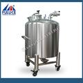 2015 flk air en acier inoxydable réservoir sous pression pour pompe à eau avec des rouleaux