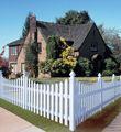 petit jardin clôture ranch du bois