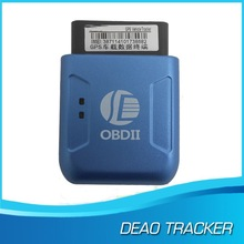 Best OBD GPS Tracker Plug-and-play GPS306 207 by SMS/Platform, for GPS/GSM/GPRS