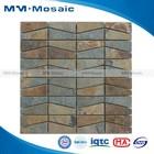 high quality natural stone beautiful art/natural stone made mosaic