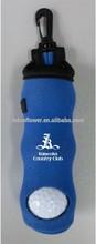 Golf Accessories Soft Nylon Mini Golf Ball Bag