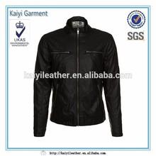 Black leather men jacket in Pakistan