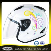810 high density EPS safety cheap open face motorcycle helmet
