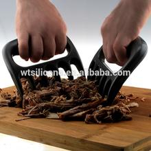 Asador de carne carnedecerdo tirado de trituración garras- carnedecerdo extractor para el manejo de& trituración de todo tipo de carne con libre barbacoa termómetro de lectura
