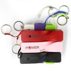 perfume shape power bank for apple iphone, 2600mAh power bank hotselling