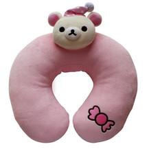 New design popular cute bean bag neck pillow