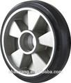 2015 venda quente 200*50 al borracha rodas pretas para o caminhão de pálete fornecedor china