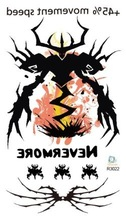 R3-22 water transfer temporary color spider tattoo wholesale sticker supply from Rocoo