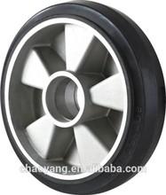 2015-l hot sale 180*50 Al rubber wheels for pallet truck china supplier