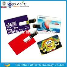 Wholesale Bulk Credit Card Usb Flash Drive Custom Printing Logo