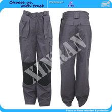 Factory Sale Oeko-tex 100 EN11612 100% Cotton Low Formaldehyde Fire Resistant/Flame Retardant Working Trousers