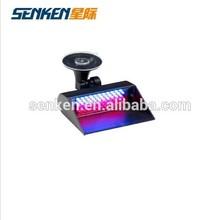 red/blue LED visor dash light