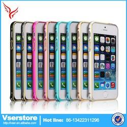 metal bumper case for iphone6,metal aluminum bumper case cover for iphone 6,thin metal bumper frame case