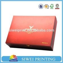 2015 Printed Velvet Packaging Paper knife gift box cardboard packaging