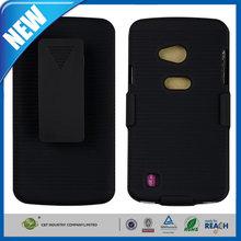 C&T Rubberized Kickstand Belt Clip Holster Combo Case Cover for LG Optimus L5 E610