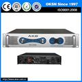 Venda quente ak-2250 200-300w profissional amplificador digital com alta qualidade
