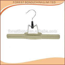 plastic cloth hanger / plastic skirt hanger / small plastic hangers