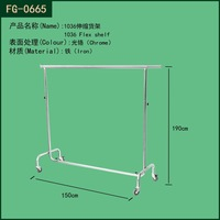 Heavy clothes display racks and stands