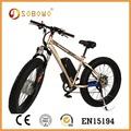 Yağ lastik elektrikli bisiklet sobowo s19 elektrikli bisiklet(2015)