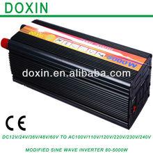 Modified Sine Wave Inverter 5000W, DC AC Converter 5kw for Solar Panel, DC to AC Inverter 5000W 12V/48V to 110V/220V