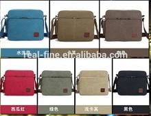 high quality vintage male vogue pattern commercial multifunctional shoulder bag canvas card men's messenger bag