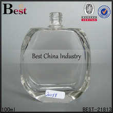 100ml round surface glass perfume bottle manufacturer; for girl and women ball shape clear empty perfume container