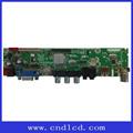 1920*1080 hdmi usb del panel tft lcd/led placa de tv para el lote de panel