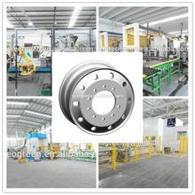 aluminum truck wheel rim 22.5 x 11.75 /forged polish aluminum truck wheels 22.5 alloy wheel for truck