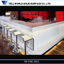 L Shape Home Bar Counter for sale/Corian L Bar Counter