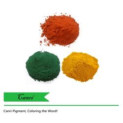 Color iron oxide dye for hot mix asphalt