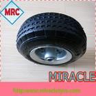 """8 """" pneumatic air wheel horse carriage wheels 2.50-4"""