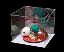 High quality 20x20x20cm Acrylic Assembled display box , plexiglass Fight inserted toy gift display show case , slot insert box