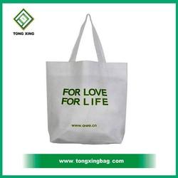 1 color logo printing shopping cotton bag
