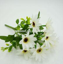 Flower making small single stem latex rose decoration wedding flower for wedding car