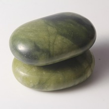 2015 new arrival Natural Hand-polished SPA Volcanic Stone Massage shiatsu neck massage cushion