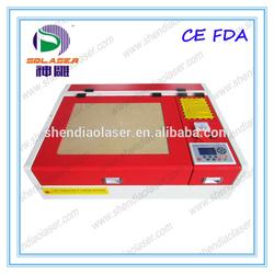 2015 40W new glass cutting machine