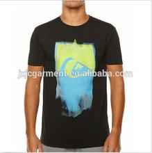 fashionable men custom print men black t-shirt,order from china direct ,man t shirts 2015