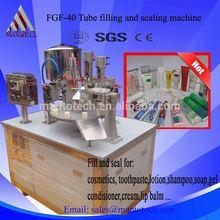 plastic &aluminium nail polish/super glue tube filling sealing machine
