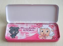 China supplier metal tin box gift box packaging pencil tin box