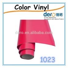 Hot Sale!Dero 1.22*50m matt or glossy cutting vinyl