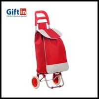 Mini Folding Shopping Trolley Backpack With Chair