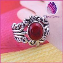 latest women fashion tibetan tibet turquoise silver ring