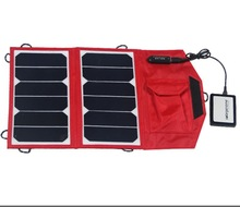 Portable solar charger 13W sun power battery charger