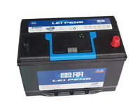 Low price new products used car battery truck battery 95D31LMF 12v80AH