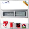 superhouse as2047 estándar de energía eficiencia insonorizadas pequeño tamaño de ventana corredera de aluminio con flynet