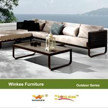wholesale cushion for outdoor patio furniture Garden Sets metal sofa set designs