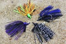 Weihai ILURE 10cm 25g Mini Dart matal fishing lure various colors to choose jig head Lure