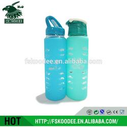 BSCI Audited Glass Bottle Factory BPA Free Heat-resistant Glass Water Bottle